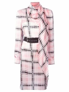 Emanuel Ungaro belted dress - Pink