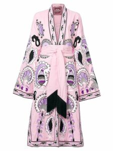 Yuliya Magdych Delight embroidered dress - Pink