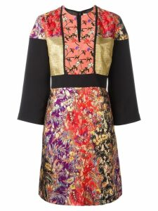 Etro floral jacquard dress - Multicolour