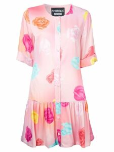 Boutique Moschino floral print dress - Pink