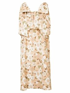 Chloé floral dress - Neutrals