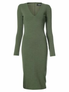 Dsquared2 V-neck fitted dress - 695