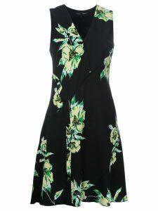 Proenza Schouler sleeveless floral print dress - Black