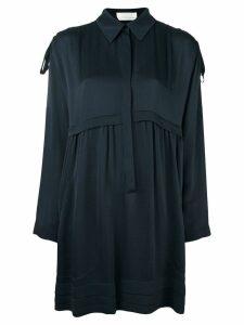 Chloé loose-fit shirt dress - Blue