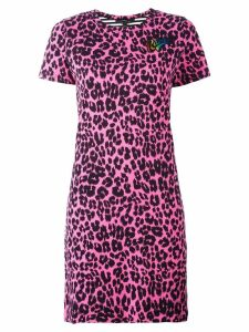 Marc Jacobs printed patchwork T-shirt dress - Pink
