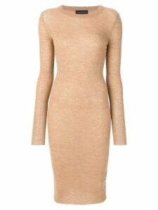 Cashmere In Love cashmere Tiera dress - Brown