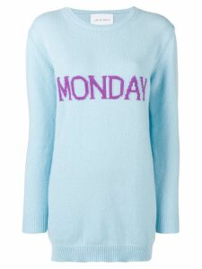 Alberta Ferretti Monday sweater dress - Blue