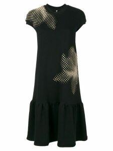 Ioana Ciolacu T-shirt drop waist dress - Black