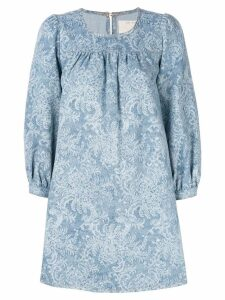 Marc Jacobs denim babydoll dress - Blue
