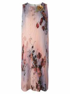 Antonio Marras floral print straight dress - Pink