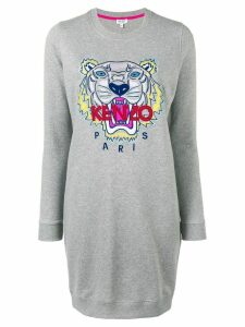 Kenzo Tiger jersey dress - Grey