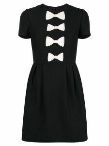 Valentino bow detailed dress - Black