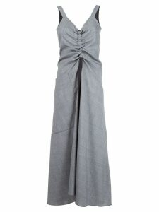 Ellery draped chest dress - Grey