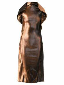 Paula Knorr metallic dress