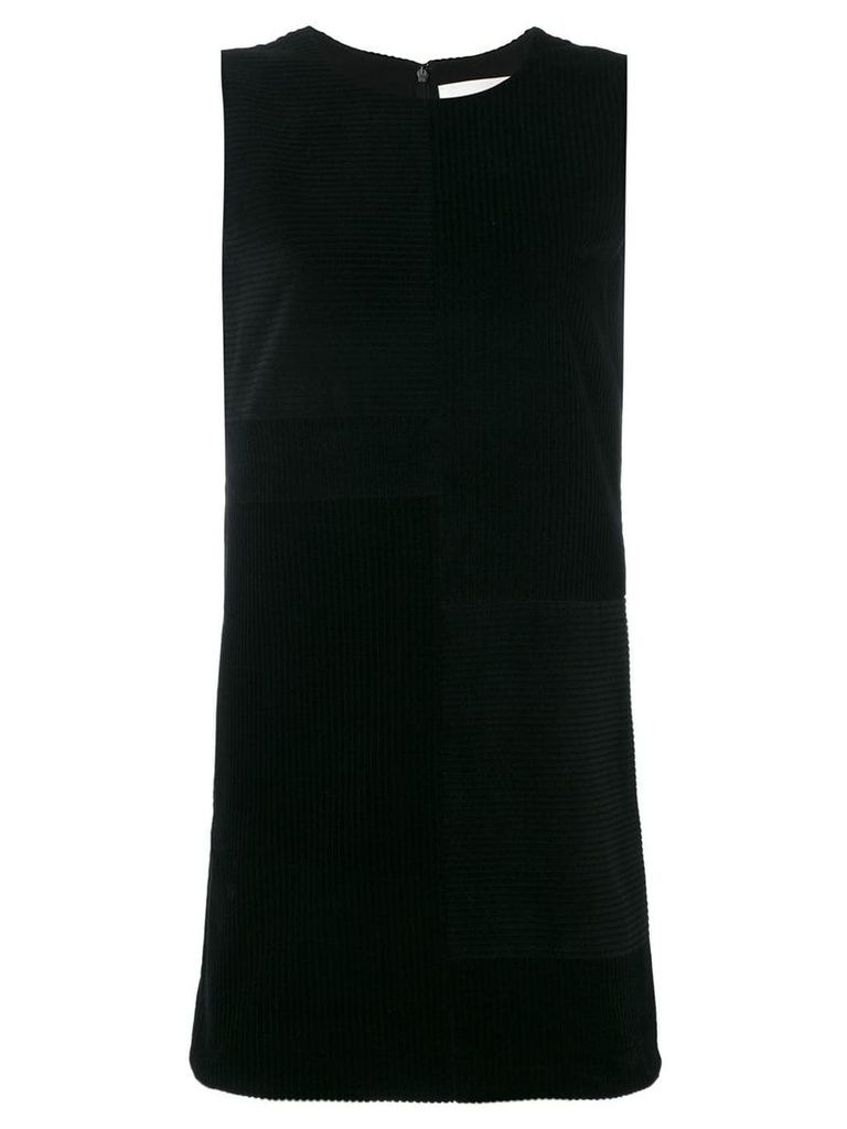 Victoria Victoria Beckham ribbed shift dress - Black