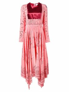 Valentino Swallow Metamorphosis dress - Pink