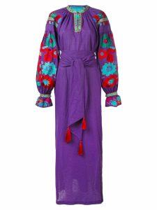 Yuliya Magdych 'Flower River' dress - Purple