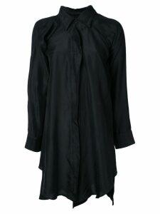 Unravel Project shirt dress - Black