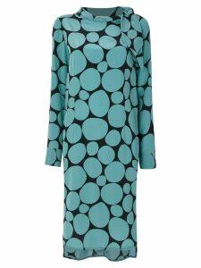 Marni mosaic dress - Blue