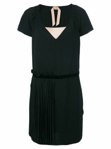 Nº21 V neck dress - Black