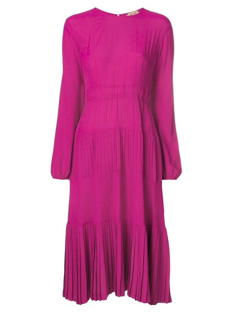 Nº21 frill panel dress - Pink