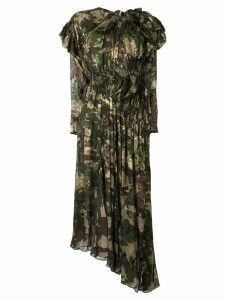 Preen By Thornton Bregazzi Stephanie camouflage flared dress -