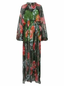 Gucci floral-print maxi dress - Multicolour
