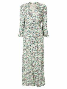 Vilshenko floral wrap dress - Green