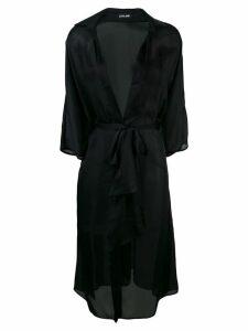 Styland wrap dress - Black