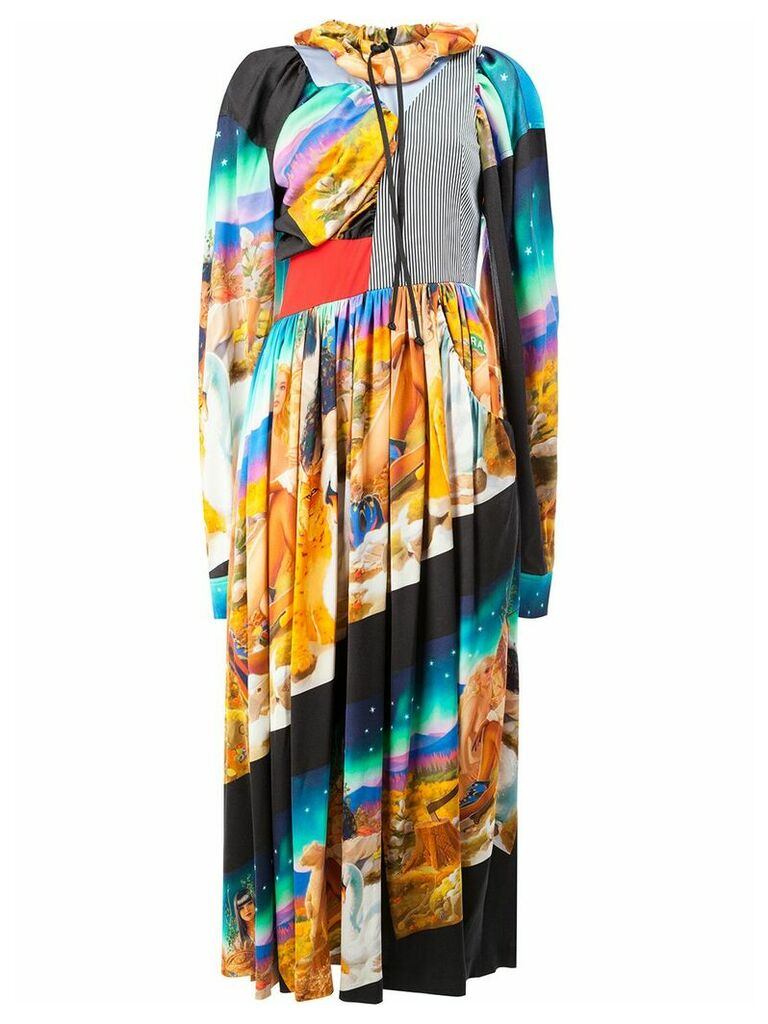 Aalto printed dress - Multicolour