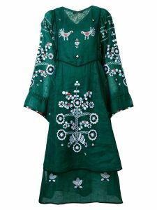 Vita Kin flared floral dress - Green