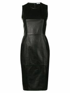 P.A.R.O.S.H. fitted midi dress - Black