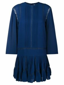 Chloé lace insert dress - Blue