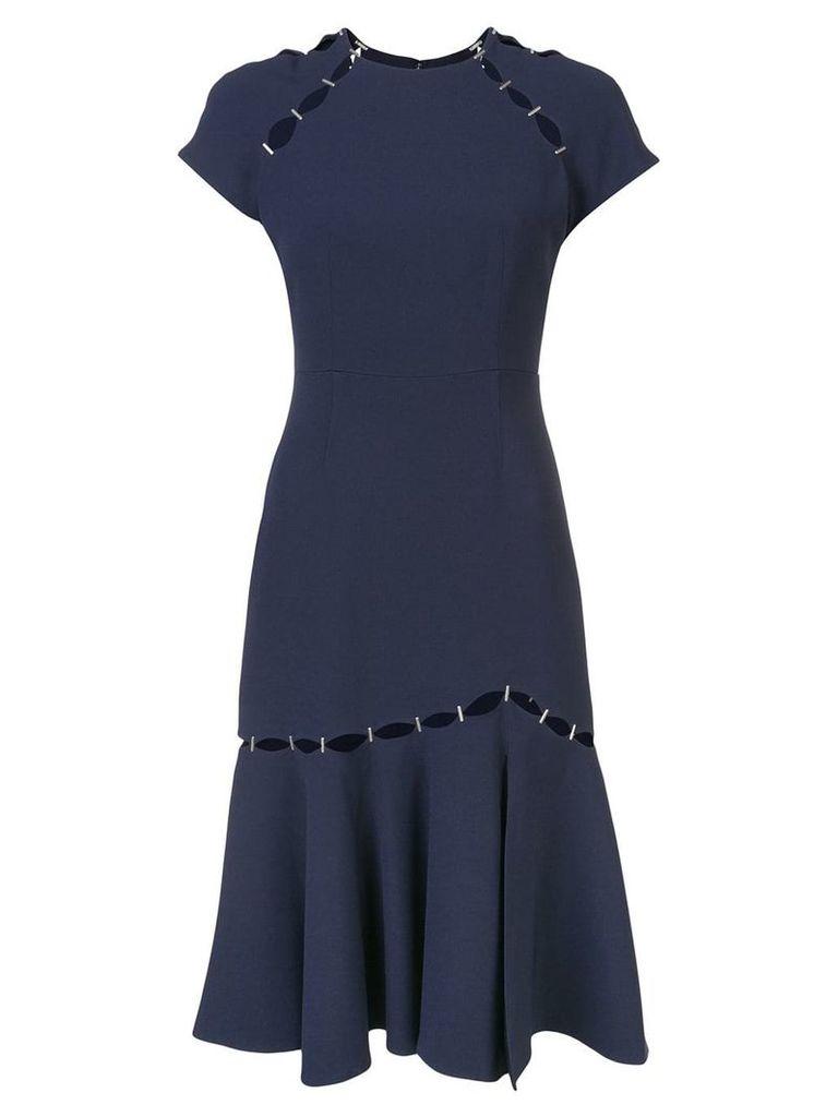 Jonathan Simkhai staple detail dress - Blue