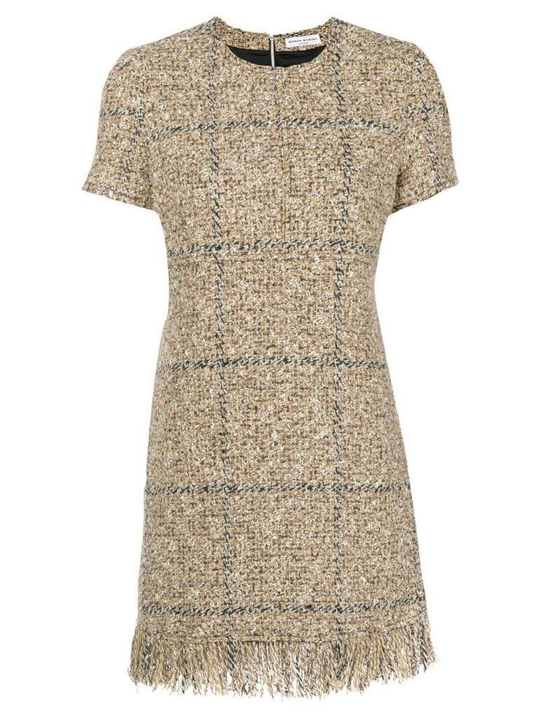 Sonia Rykiel bouclé mini dress - Neutrals