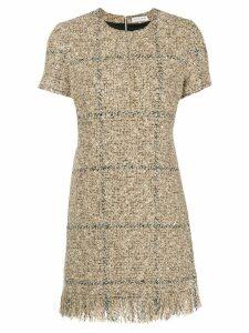 Sonia Rykiel bouclé mini dress - Neutrals