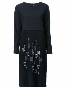 Jimi Roos black knitted dress
