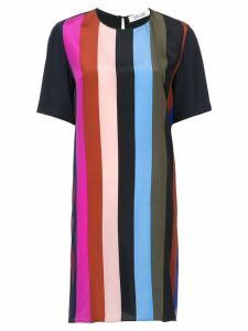 Dvf Diane Von Furstenberg striped T-shirt dress - Multicolour