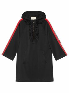 Gucci Hooded jersey dress - Black