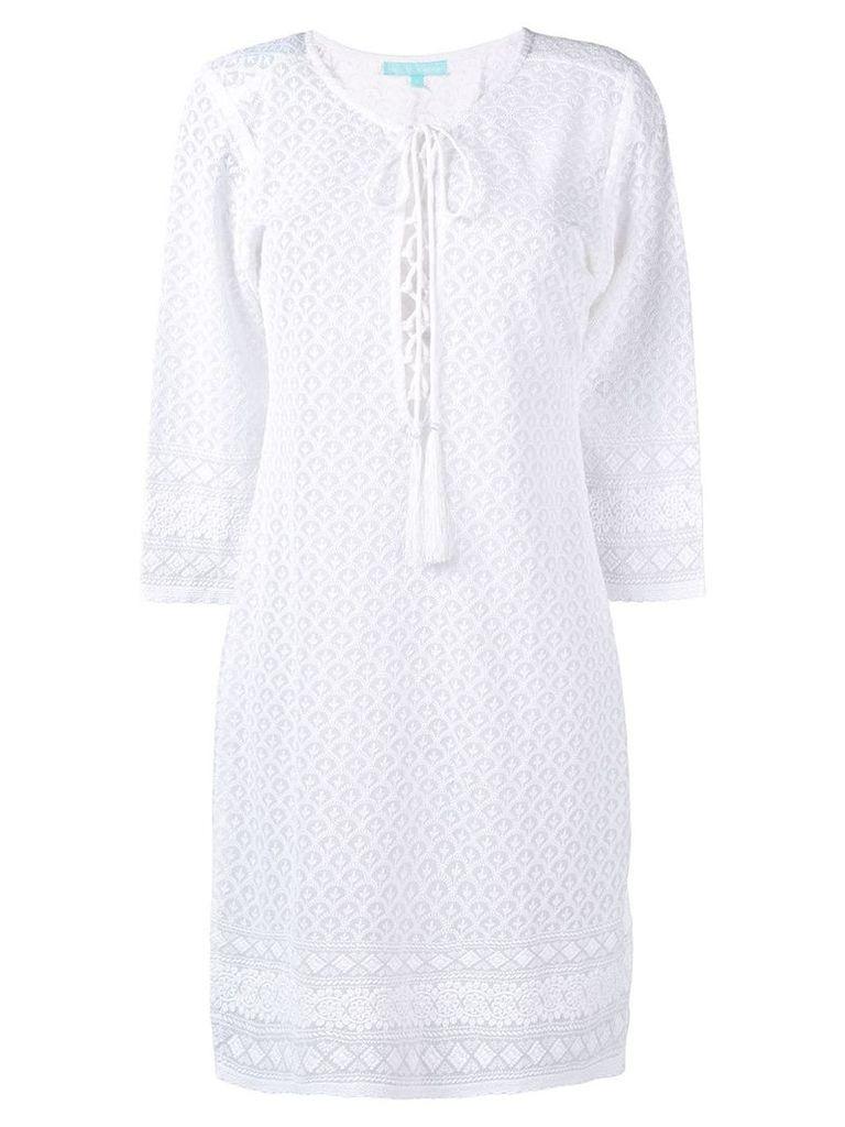 Melissa Odabash knitted dress - White