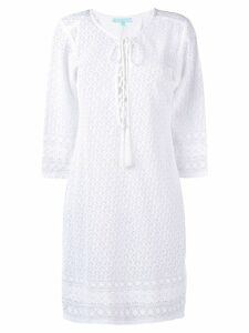 Melissa Odabash knitted dress - White
