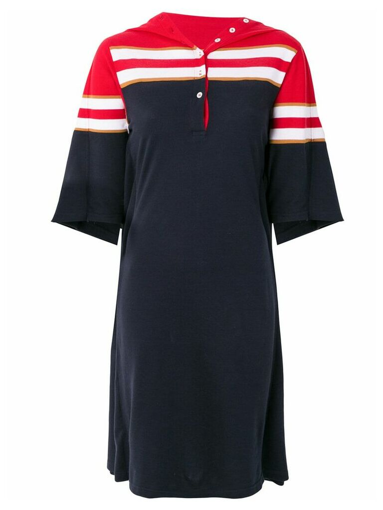 Y/Project polo shirt dress - Blue