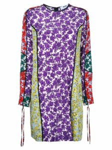 MSGM printed panel shift dress - Multicolour