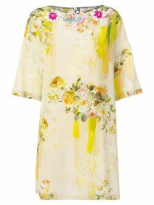 Antonio Marras floral print dress - Neutrals