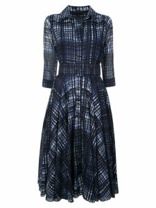 Samantha Sung Monroe check dress - Blue