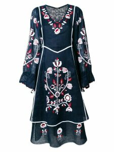 Vita Kin flared floral dress - Blue