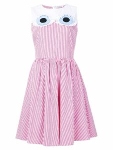 Vivetta striped flared dress - Pink