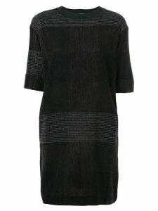 Stephan Schneider Hourglass T-shirt dress - Black