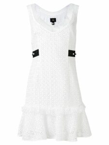 Cavalli Class embroidered dress - White