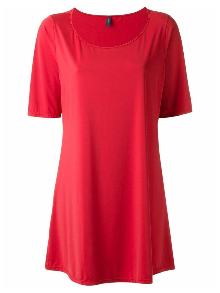 Lygia & Nanny boat neck tunic - Red
